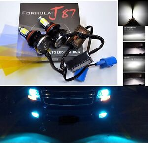 LED-Kit-G5-80W-9007-HB5-8000K-Icy-Blue-Head-Light-Two-Bulbs-Hi-Lo-Beam-Replace
