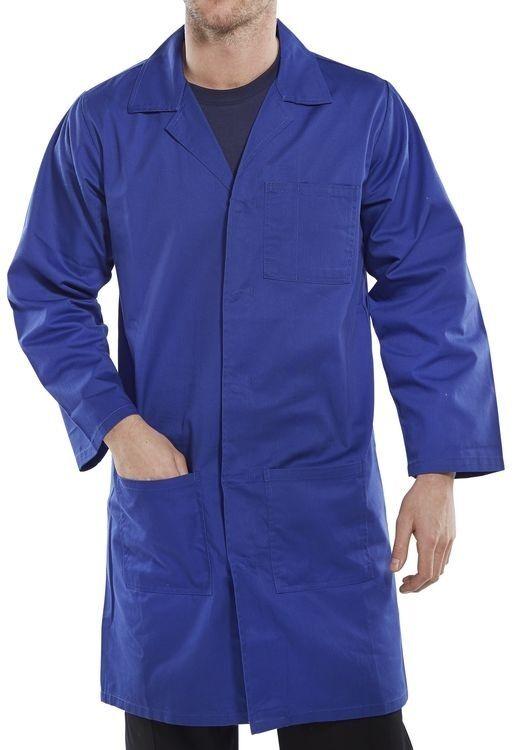 Dickies Ropa Abrigo/ De Trabajo - almacén tienda Lab Laboratorio Abrigo/ Ropa Bata Azul Rey ea8bd2