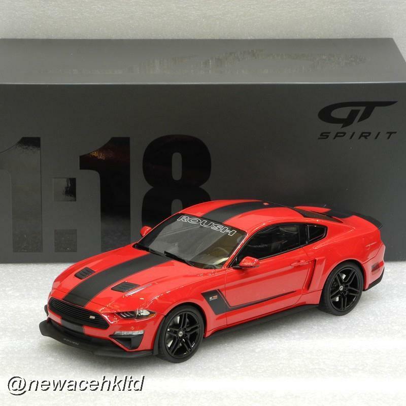 Ford Mustang Roush Stage 3 2019 rot  1:18 Resin GT-Spirit  GT260 neu /& OVP