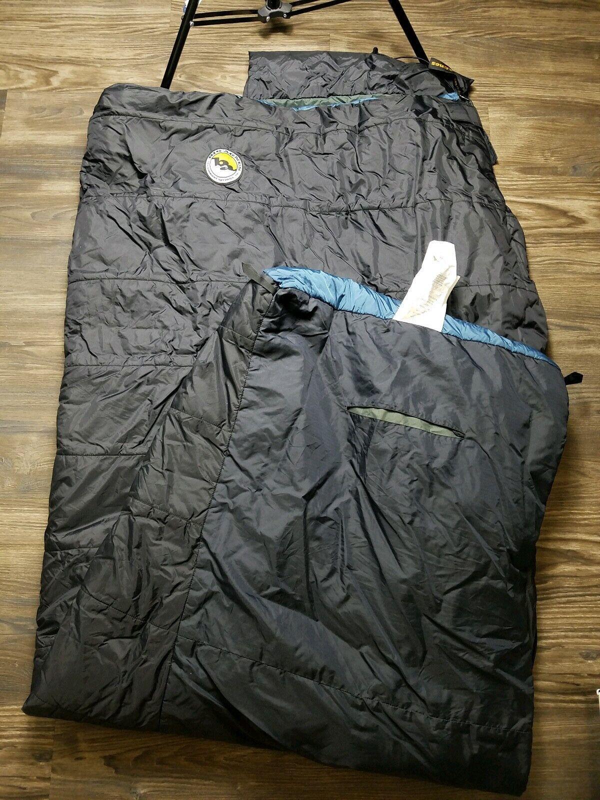 Big Agnes Cross Mountain +45 Sleeping Bag - Used