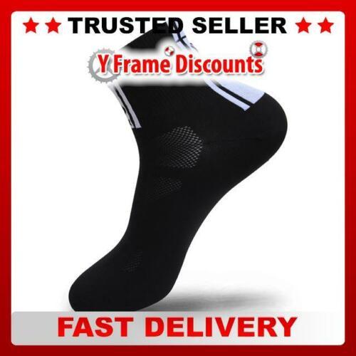"""FLR Elite 3.5/"""" Short Lightweight Socks in Black"""