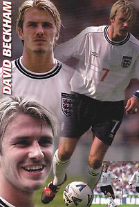 FOOTBALL POSTCARD DAVID BECKHAM IN No7 ENGLAND FOOTBALL SHIRT - <span itemprop='availableAtOrFrom'>Ryde, Isle of Wight, United Kingdom</span> - FOOTBALL POSTCARD DAVID BECKHAM IN No7 ENGLAND FOOTBALL SHIRT - Ryde, Isle of Wight, United Kingdom