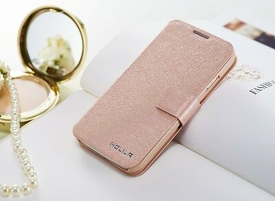 (NEW) LUXURY WALLET Slim Leather flip case cover For HTC One 2013 M7 Accessory