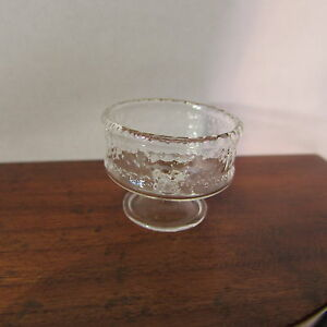 Glass Bowl ~ Doll House Miniature ~ 1/12 scale