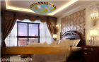 European Rural Style 3 Lights Diameter 40CM Height 9CM Bedroom Ceiling Light #G
