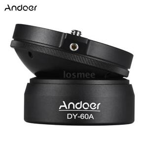 Andoer-DSLR-Camera-Panoramic-Tripod-Leveling-Base-Photography-1-4-034-360-Ball-Head