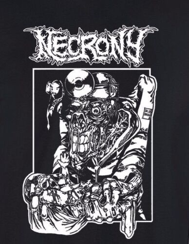 NECRONY T-shirt goregrind death metal haemorrhage exhumed carcass mangled torsos