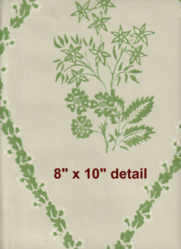 $4 SAMPLE fine Historic Reproduction Wallpaper Colonial Early American 1760