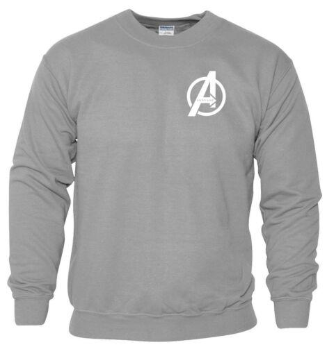 Avengers Issue sweasthirt petit un Logo Iron Man MCU Marvel cadeau hommes neuf