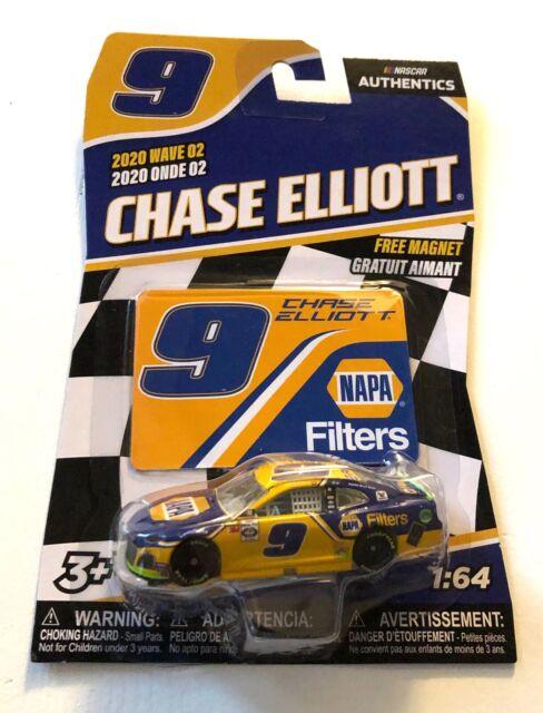 Chase Elliott #9 NASCAR Authentics 2020 NAPA Filters Wave 2 1/64 Die-Cast