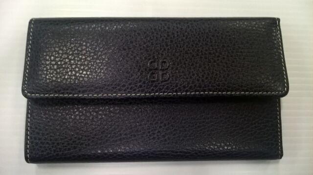 Bosca Seychelles Clutch I.D. Wallet Ladies Purse - Black