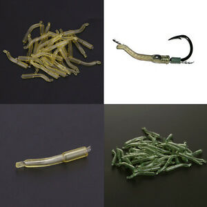 30pcs-Outdoor-Carp-Fishing-Safety-Lead-Clips-amp-Pins-Tail-Rubber-Tubes-23mm-KKPLs