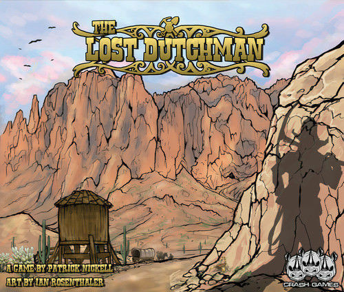 New The Lost Dutchman Board Game