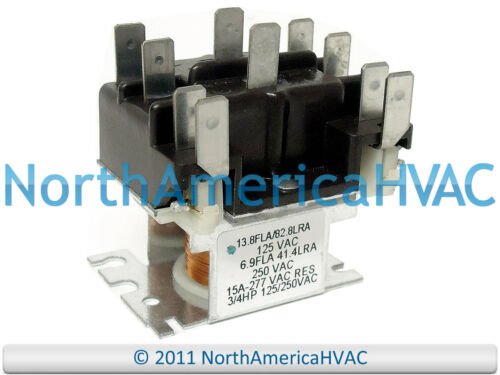 Rheem Furnace Relay 120 Volt Coil 42-25106-02 2NO//2NC
