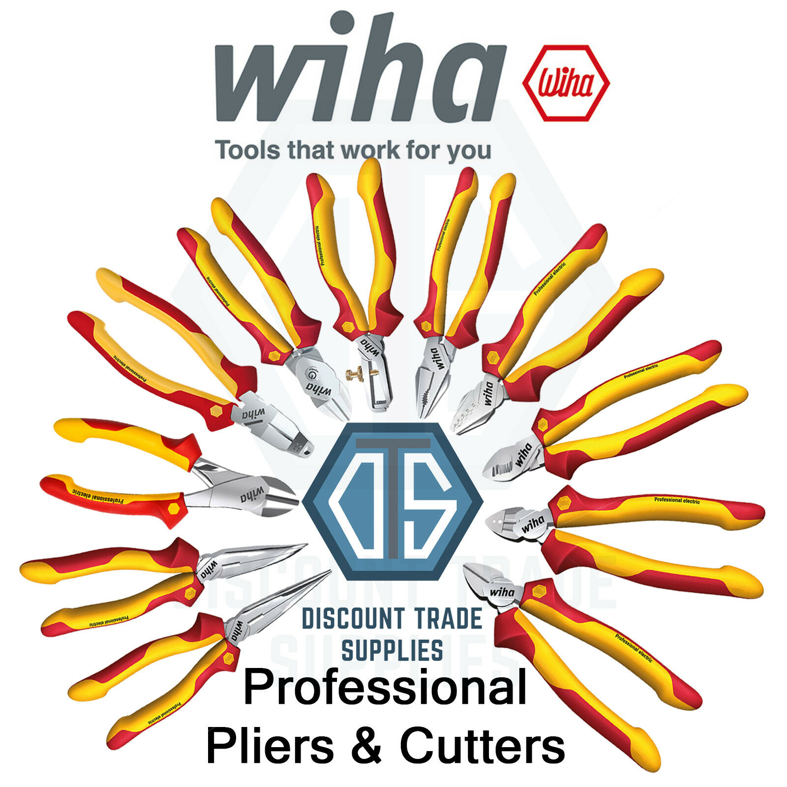 Heavy Duty Premier Side Cutters Wire Pince coupe 180 mm
