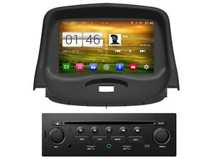 car radio s160 gps android peugeot 206 206 cc 206 sw ebay. Black Bedroom Furniture Sets. Home Design Ideas