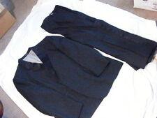 ROBERT WAGNER COLLECTION RAFFINATI BLACK SUIT JACKET SLACKS 39-40-41 L WPL 12005