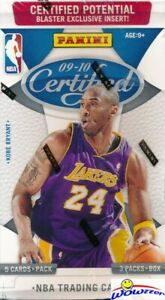 2009-10-Panini-Certified-Basketball-Factory-Sealed-HOBBY-Blaster-Box-AUTO-MEM