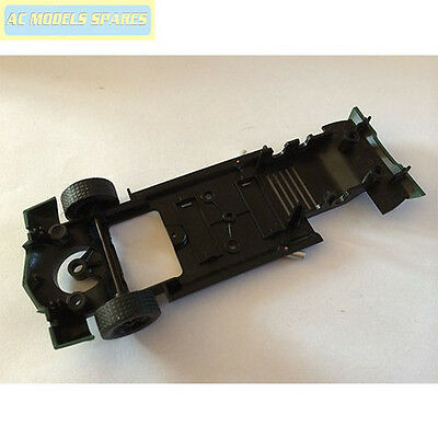 W9966 Scalextric Spare Chevrolet Nascar Underpan and Front Wheel Assembly C3...