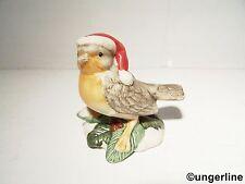 Goebel Vogel Zwitschernder Weihnachtsbote Weihnachten Goebelfigur Göbel NEU