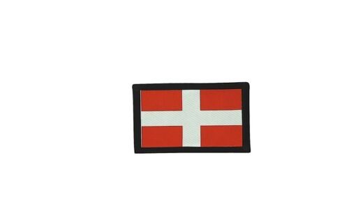 Patch ecusson brode imprime voyage souvenir backpack drapeau savoie savoyard