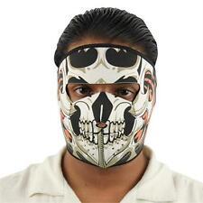 Flaming Dragon Skull Mask - Airsoft - Paintball - Motorcycle - NEW - Mask4