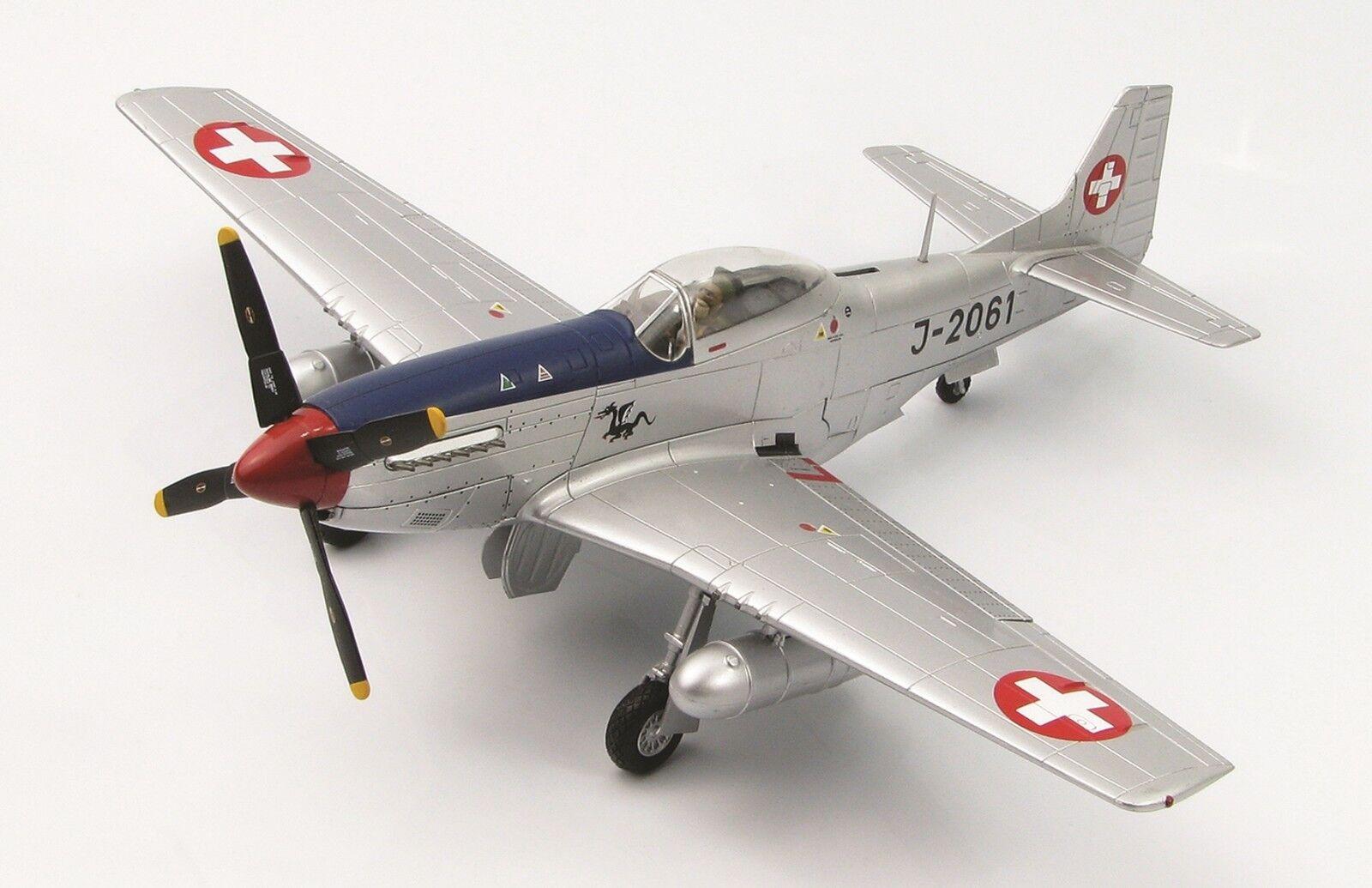 Hobby - meister 1 48 p-51d mustang swiss air force faust 16, j-2061 september 1949 ha7725