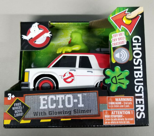 Ghostbusters Electronic Ecto-1 Vehicle with Glowing Slimer 2016