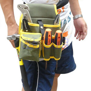 Mechanic-Portable-Canvas-Tool-Waist-Bag-Belt-Utility-Kit-Pocket-Pouch-Organizer