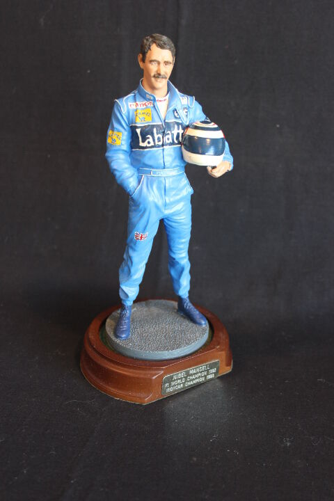 Sheercast Nigel Mansell (GBR) World Champion F1 1992 Indy Car Champion 1993 (WC)