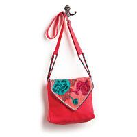 Book Bag Purse Coral Southwest Floral Design Brave Girl Back To School