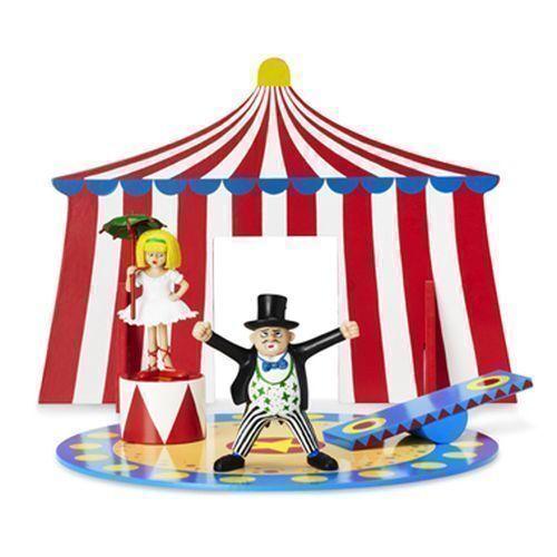 Fifi Brindacier cirque tente avec la piste directeur Princesse