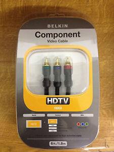 Belkin-Nero-Componente-HDTV-Video-pure-Av-RGB-Cavo-1-8-M-Placcato-Oro