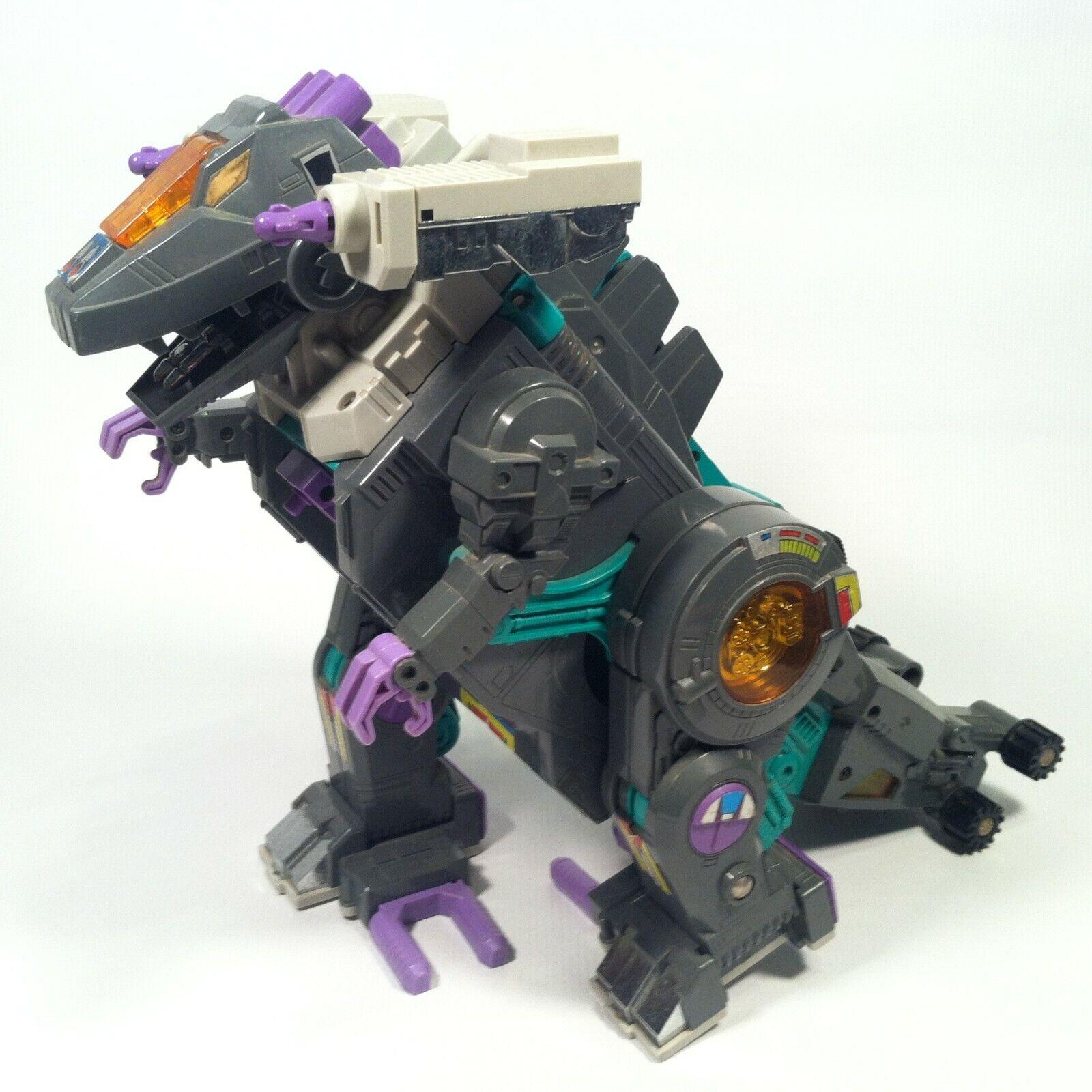 hermoso Vintage Figura Figura Figura de Transformers G1 Trypticon sólo  alto descuento