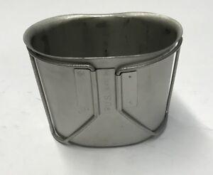 Us Army Usmc Stainless Camp Cup Acier Inoxydable Potable Tasse Pour Gourde Tasse-afficher Le Titre D'origine GuéRir La Toux Et Faciliter L'Expectoration Et Soulager L'Enrouement