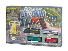 Bachmann E-Z Bluetooth Controled HO Scale Electric Train BLUE LIGHTNING Set Kit