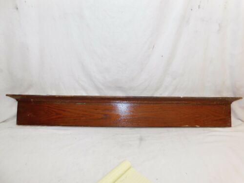 1900/'s Antique DOOR PEDIMENT Lintel Header CRAFTSMAN MISSION Style Oak ORNATE