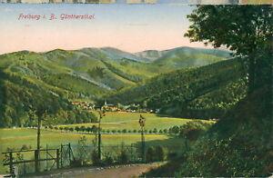 Ansichtskarte-Freiburg-i-B-Guentherstal-1916-Nr-760
