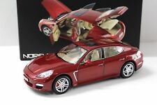 1:18 Norev Porsche Panamera Turbo 2009 red NEW bei PREMIUM-MODELCARS