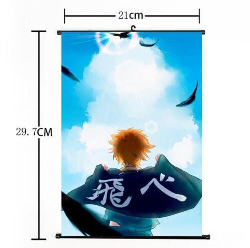 Shoyo Hinata Shonen Home Decor Poster Wall Scroll 03 Hot Japan Anime Haikyuu!