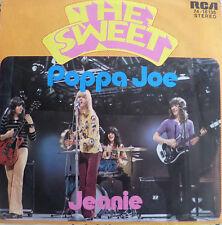 "7"" 1972 GLAM KULT IN VG+++ ! THE SWEET : Poppa Joe"