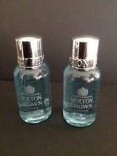 MOLTON BROWN - 2 x Cypress & Sea Fennel Bath & Shower Gel 30ml Travel  Authentic