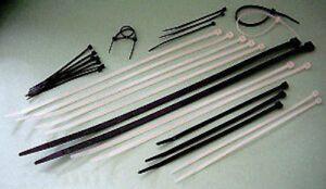Kabelbinder 2,6x100 mm in NATUR (Weiß) 100 Stück