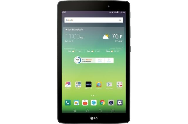 LG G Pad X 8.0 V520 32GB Wi-Fi+4G Unlocked (GSM Only) Excellent Condition Tablet