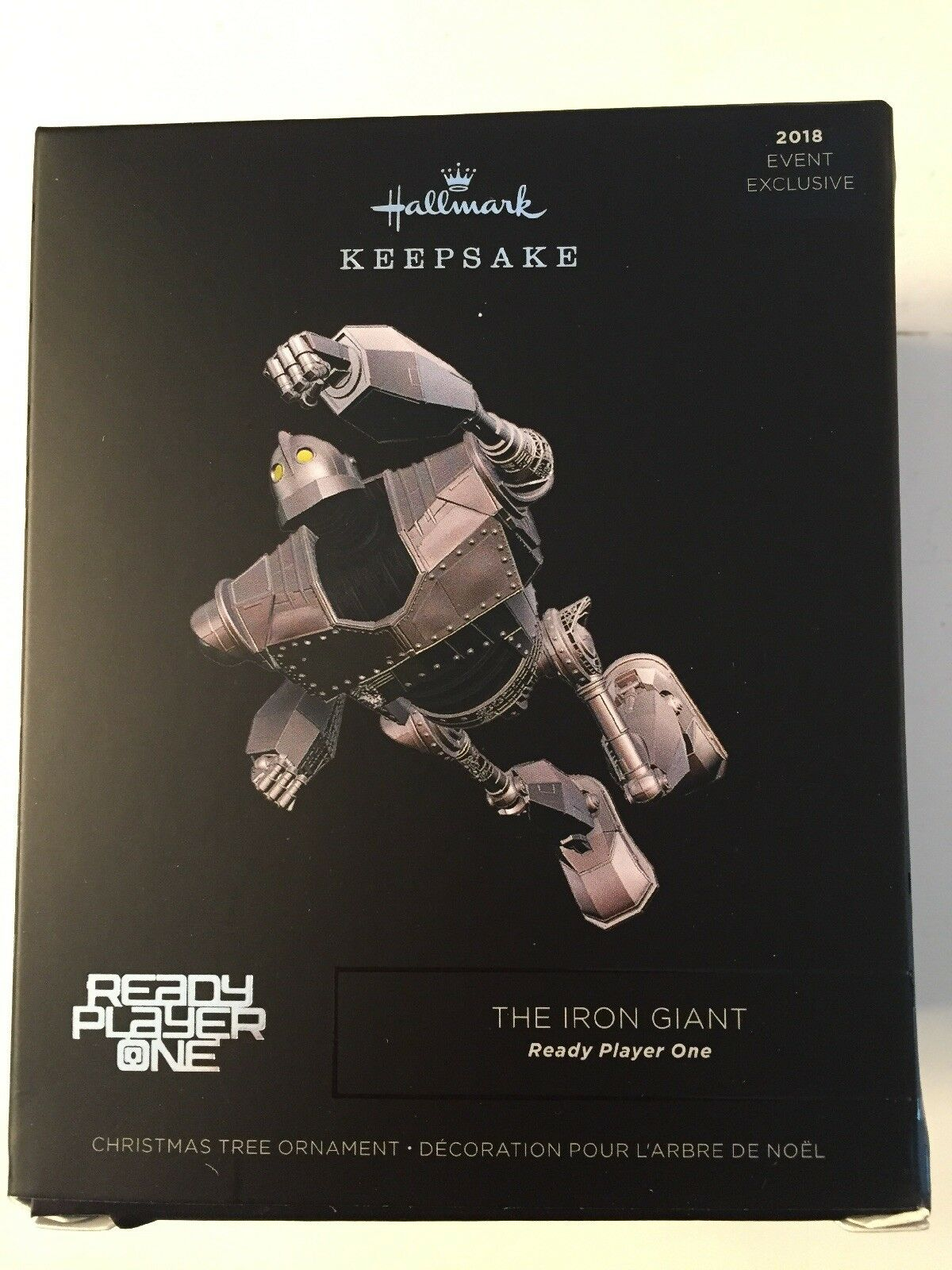 NEW SDCC 2018 Hallmark Iron Giant Ready Player One Exclusive Ornament