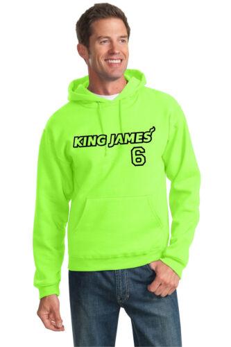 3xl James Con Uomo Leone Nba S Nuovo Lebron Da Felpa Basket Cappuccio King 7wSZaZTqn