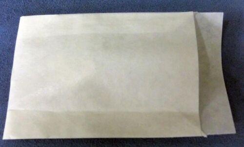 200Stk. Zweinaht +Klappe Nr.2100-Papiertüten weiß 14,5cmx23cm Flachbeutel
