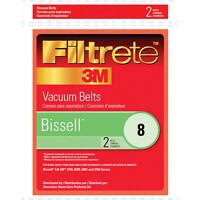 Filtrete 3m Bissell Number 8 Vacuum Cleaner Belt - 2 Pack 66008