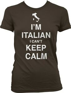 Im Italian I Cant Keep Calm Carry On Parody Italy Guido Meme Long Sleeve Thermal