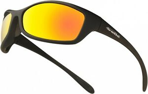 Bolle-Spider-SPIFLASH-Safety-Glasses-Red-Mirror-Flash-Lens-High-UV-Protection